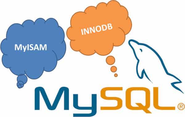 Conversion des tables du moteur MyISAM vers INNODB