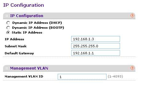 Installation et configuration du Switch GS108T de NETGEAR