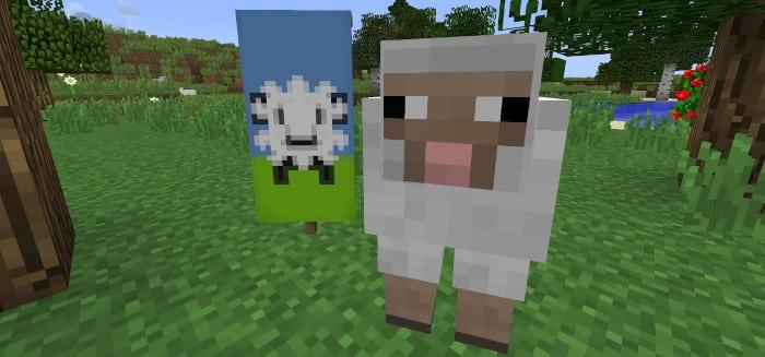 Mouton Minecraft