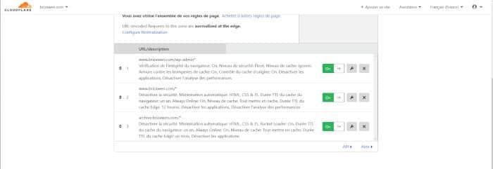 Cloudflare pour protéger un un site Web
