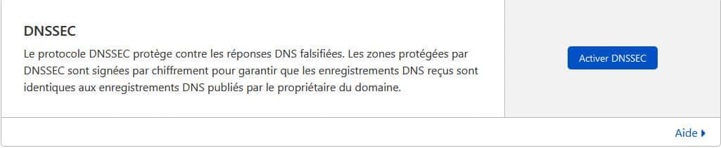 Comment activer DNSSEC pour un domaine sur Cloudflare ?