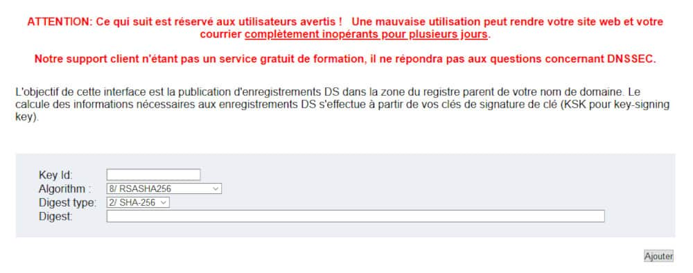 Activation et configuration de DNSSEC chez BookMyName et Cloudflare